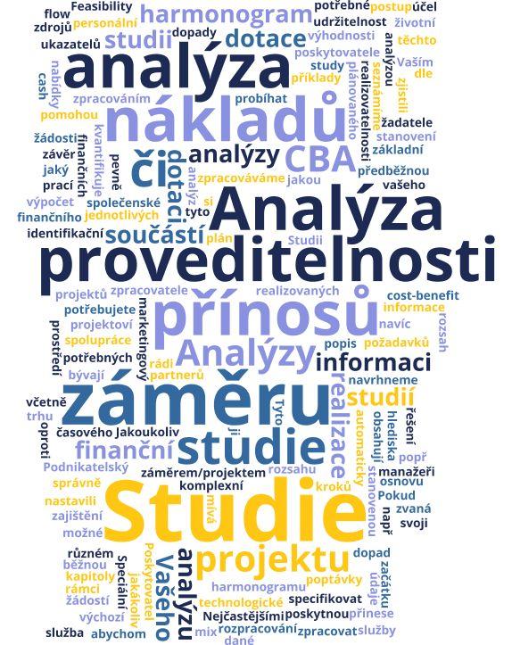 Analýzy & Studie proveditelnosti a CBA
