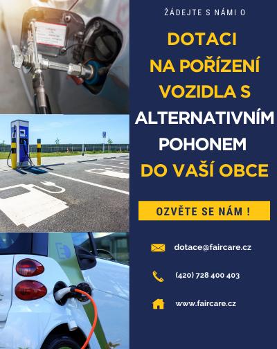 NPŽP, vozidla na alternativní pohony pro obce