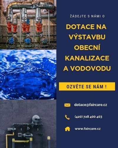 NŽP, vodovody a kanalizace